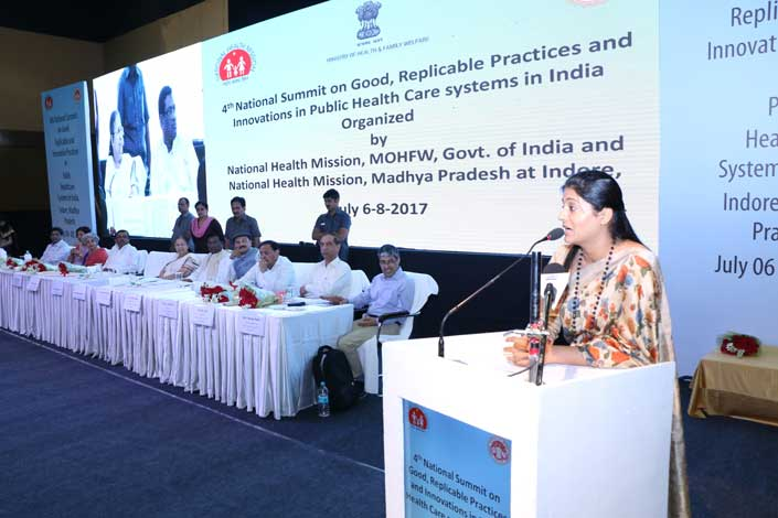 5th National Summit on Good, Replicable Practices & Innovations in Public Healthcare Systems- Kaziranga