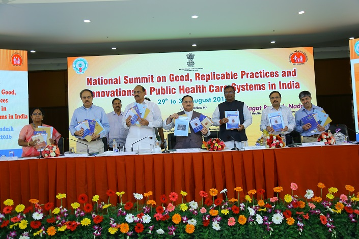 National Summit on Good Replicable Practices and innovations in Healthcare Systems on 29 to 31 August 2016 at Tirupati
